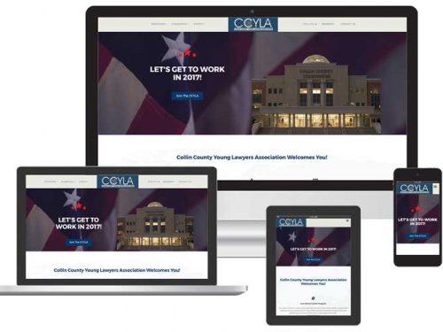 Lawyers Association web design