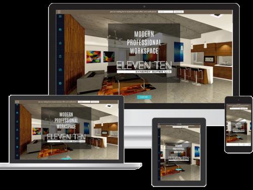 Office rental web design Venice FL