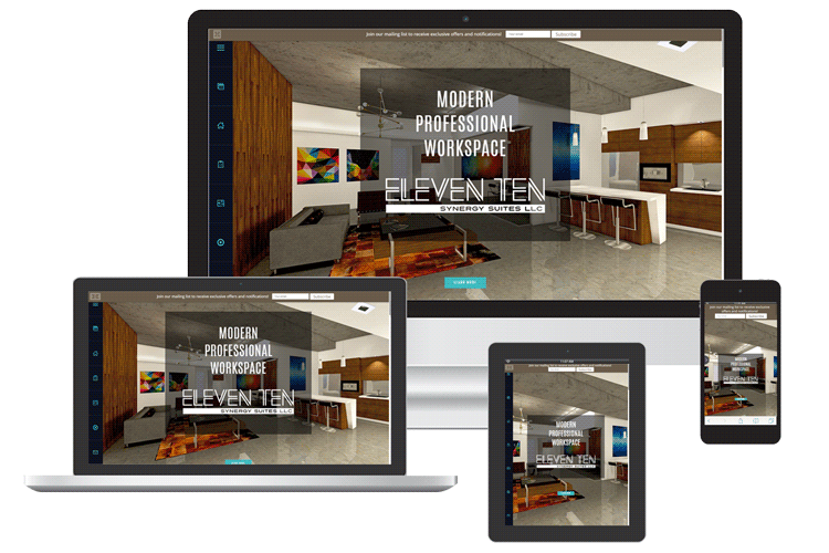 Office rental web design Venice FL
