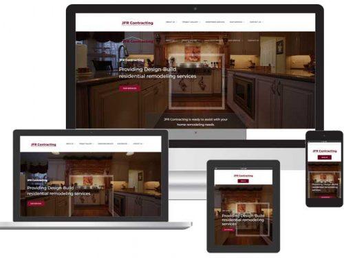 custom contractor web design sarasota