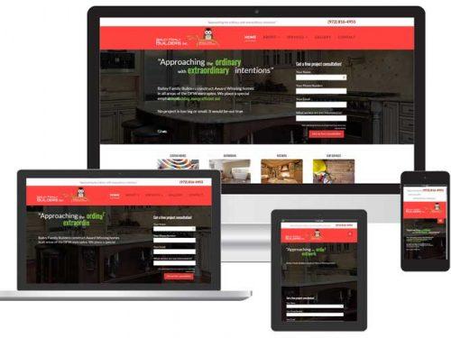 custom contractor web design venice fl