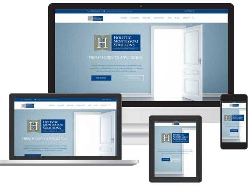 montessori school web design Sarasota FL