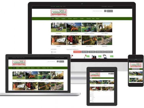 power equipment ecommerce web design venice fl